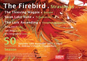 North Wiltshire Symphony Orchestra Autumn Concert