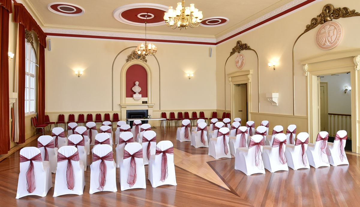 Chippenham Town Hall Wedding Reception