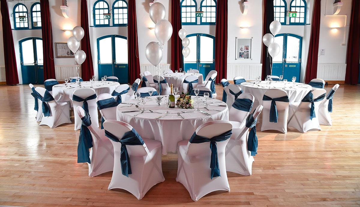 Chippenham Town Hall Wedding Reception