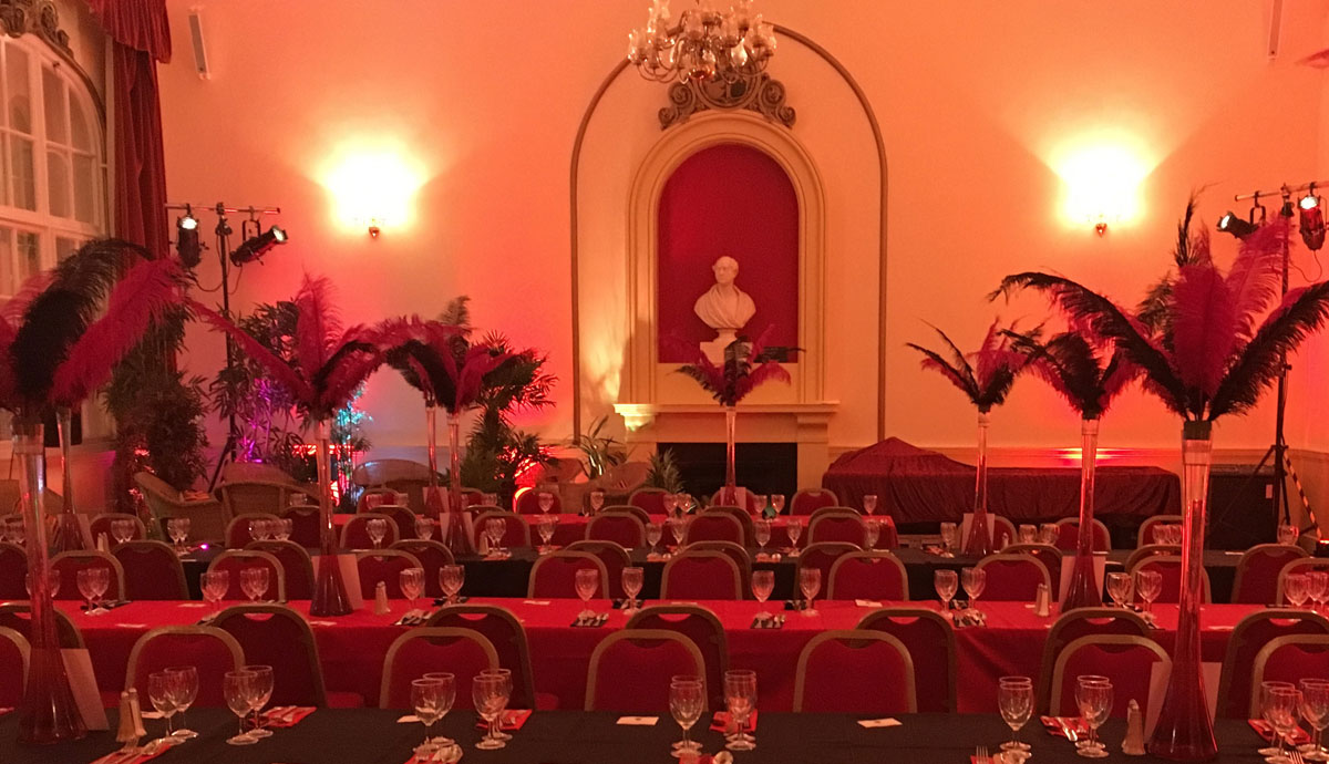 Corporate hire at Chippenham Town Hall