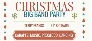 Terry Franks Christmas Big Band Party logo